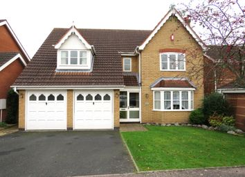 Thumbnail 4 bed detached house for sale in Fairford Close, Shirley, Solihull