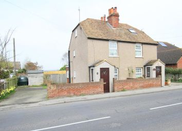 Thumbnail 3 bed cottage for sale in Island Road, Upstreet, Canterbury