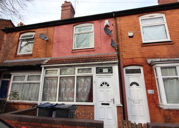 Thumbnail 3 bed terraced house for sale in Runcorn Road, Balsall Heath, Birmingham