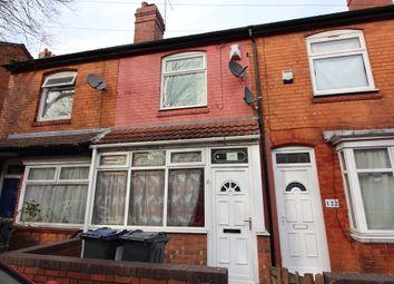 Thumbnail 3 bedroom terraced house for sale in Runcorn Road, Balsall Heath, Birmingham
