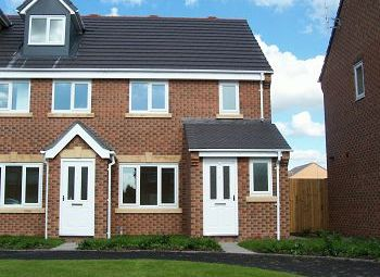 Thumbnail 3 bed mews house to rent in Goodeway, Crewe, Cheshire