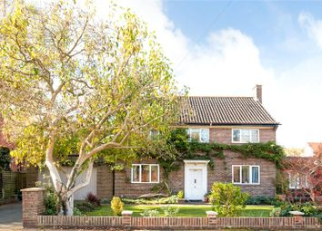 Thumbnail 4 bed detached house for sale in Worple Road, Epsom, Surrey