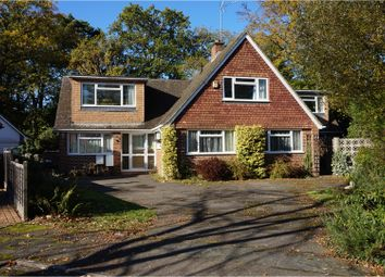 Thumbnail 5 bed detached house for sale in Briar Close, West Byfleet