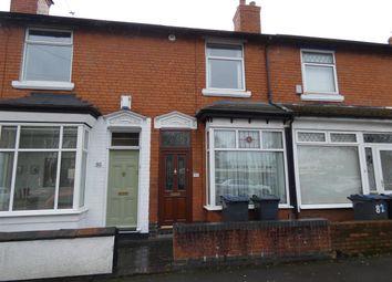Thumbnail 3 bed terraced house for sale in Harvey Road, Yardley, Birmingham