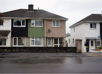 Thumbnail 3 bedroom semi-detached house for sale in Dudley Road, Plymouth