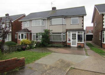 Thumbnail 3 bed semi-detached house for sale in Gilroy Close, Rainham