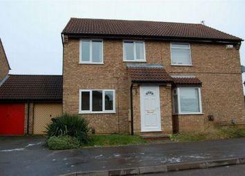 Thumbnail 3 bed semi-detached house to rent in Brashland Drive, East Hunsbury, Northampton