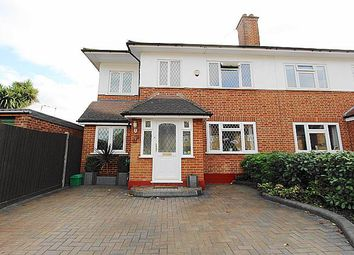Thumbnail 5 bed semi-detached house for sale in Frogmore Gardens, Hayes