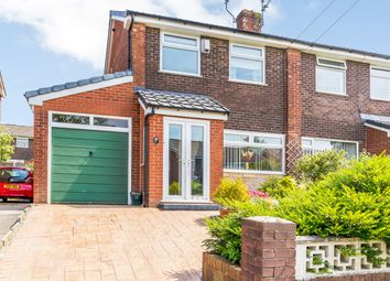 Thumbnail 3 bed semi-detached house for sale in Harewood Road, Oldham, Greater Manchester