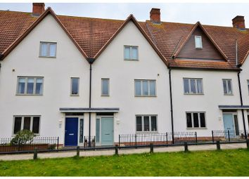 Thumbnail 4 bed town house for sale in Mill Pond Drive, Northampton