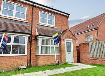 Thumbnail 2 bed end terrace house for sale in Markeaton Park, Kingswood, Hull