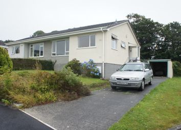 Thumbnail 2 bed semi-detached bungalow to rent in Trecarne Close, Truro