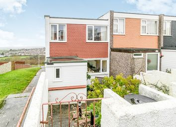 Thumbnail 3 bed terraced house for sale in Pethick Close, Plymouth