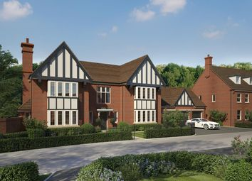 Thumbnail 5 bed detached house for sale in The Oaks, Barlaston, Stoke-On-Trent