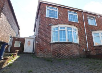 Thumbnail 5 bedroom semi-detached house for sale in Hadrian Road, Fenham, Newcastle Upon Tyne