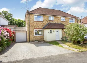 Thumbnail 3 bed semi-detached house for sale in Old Pasture Road, Camberley
