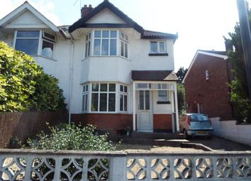 Thumbnail 3 bedroom semi-detached house for sale in Malvern Terrace, Winchester Road, Shirley, Southampton