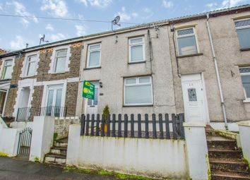 Thumbnail 2 bed terraced house for sale in Bodwenarth Road, Pontypridd