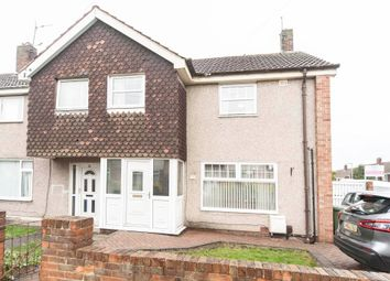 Thumbnail 3 bed end terrace house for sale in Swift Grove, Hartlepool