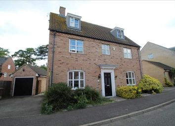 Thumbnail 5 bed detached house to rent in Roberts Close, Kesgrave, Ipswich