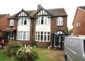 Thumbnail 3 bed semi-detached house to rent in Hillmorton Road, Rugby