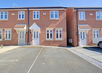 Thumbnail 3 bed semi-detached house for sale in Ravenser Court, Hedon, Hull