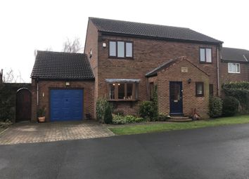 Thumbnail 4 bed detached house for sale in Woodview Close, Whitley, Goole