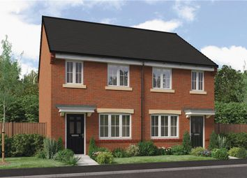 "Thumbnail 3 bed semi-detached house for sale in ""The Stretton"" At Ladyburn Way, Hadston, Morpeth NE65, Hadston,"