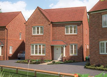 "Thumbnail 4 bed detached house for sale in ""The Aspen "" at Marsh Lane, Nantwich"