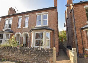 Haddon Road, West Bridgford, Nottingham NG2. 4 bed semi-detached house