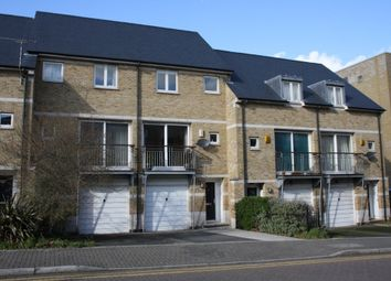 Thumbnail 4 bedroom town house to rent in Napier Avenue, London