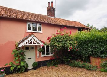 Thumbnail 2 bed semi-detached house for sale in Low Street, Wicklewood, Wymondham