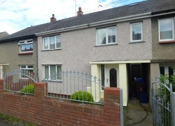 Thumbnail 4 bed terraced house for sale in Queens Avenue, Bangor, Gwynedd, North Wales