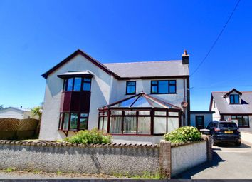 Thumbnail 5 bed detached house for sale in Llanrhyddlad, Holyhead