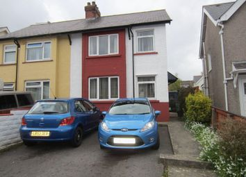 Thumbnail 3 bedroom semi-detached house for sale in Nottage Road, Cardiff