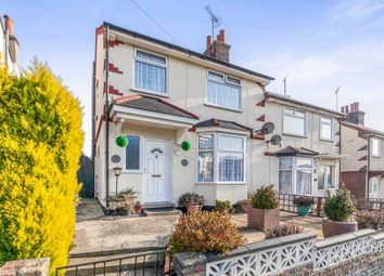 Thumbnail 2 bed semi-detached house for sale in Edward Street, Parkeston, Harwich