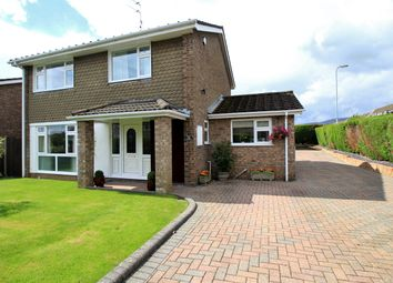 Thumbnail 4 bed detached house for sale in Court Gardens, Rogerstone, Newport