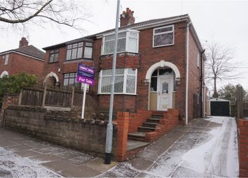 Thumbnail 3 bed semi-detached house for sale in Kelvin Avenue, Sneyd Green, Stoke-On-Trent