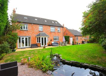 Thumbnail 5 bed detached house for sale in Sutton Lane, Sutton In The Elms, Broughton Astley, Leicester