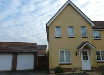 Thumbnail 3 bedroom terraced house to rent in Spindler Close, Kesgrave