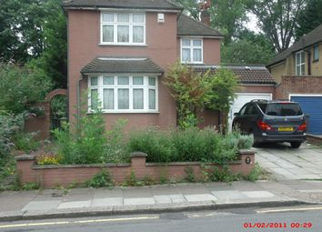 Thumbnail 4 bed detached house to rent in Marlborough Road, Luton