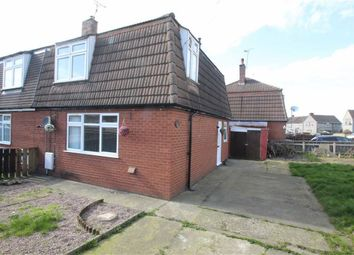 Thumbnail 2 bed semi-detached house for sale in Walden Crescent, Chirk, Wrexham