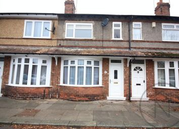 Thumbnail 2 bed terraced house for sale in Grey Street, Darlington