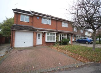 Thumbnail 3 bed semi-detached house for sale in Branthill Croft, Hillfield, Solihull