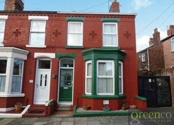 Thumbnail 3 bedroom terraced house for sale in Truro Road, Wavertree, Liverpool