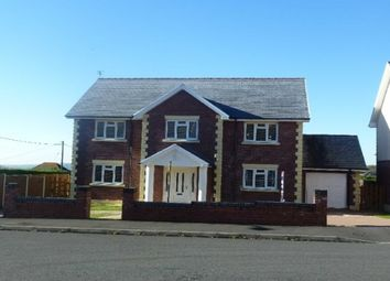 Thumbnail 5 bed detached house to rent in Clos Treventy, Cefneithin, Llanelli