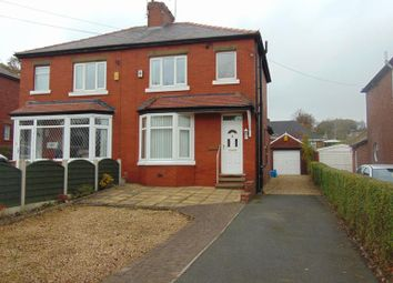 Thumbnail 3 bed semi-detached house for sale in 186 Oldham Road, Grasscroft, Oldham