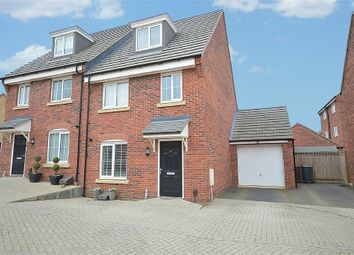 Thumbnail 3 bed semi-detached house for sale in Drake Way, Dragonfly Meadows, Northampton