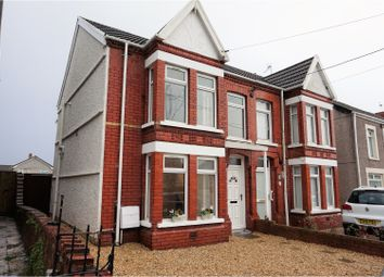 Thumbnail 3 bedroom semi-detached house for sale in Coalbrook Road, Grovesend