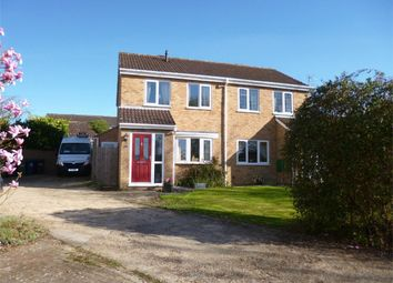 Thumbnail 2 bedroom semi-detached house for sale in Great Paxton, St Neots, Cambridgeshire